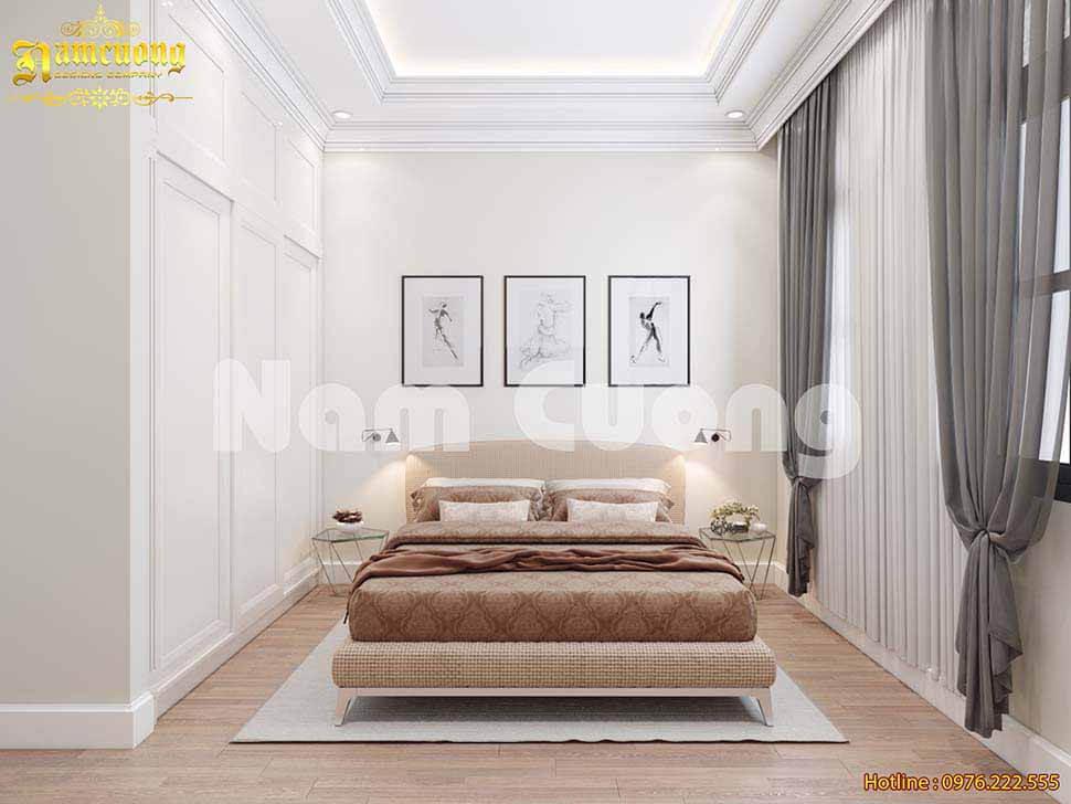 Phòng ngủ nhỏ phong cách vintage đẹp