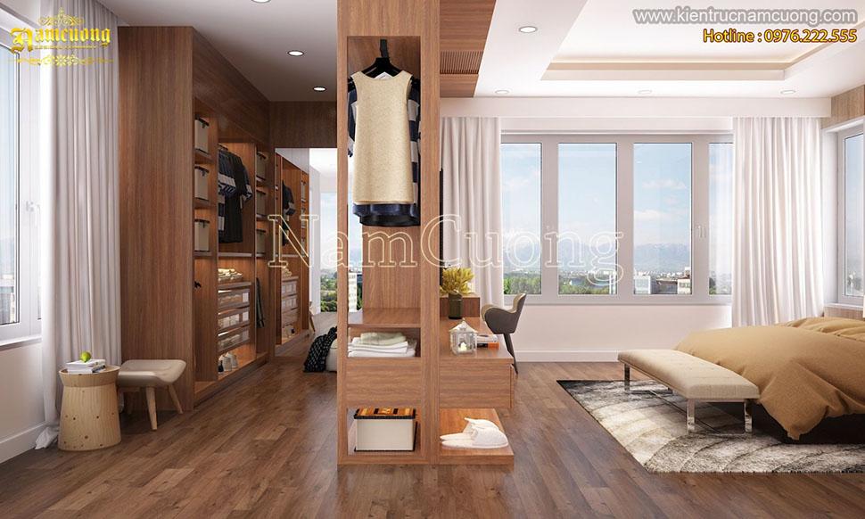 Lựa chọn vị trí đặt tủ cao ráo là yếu tố giúp cho tủ gỗ không bị hỏng, ẩm ướt
