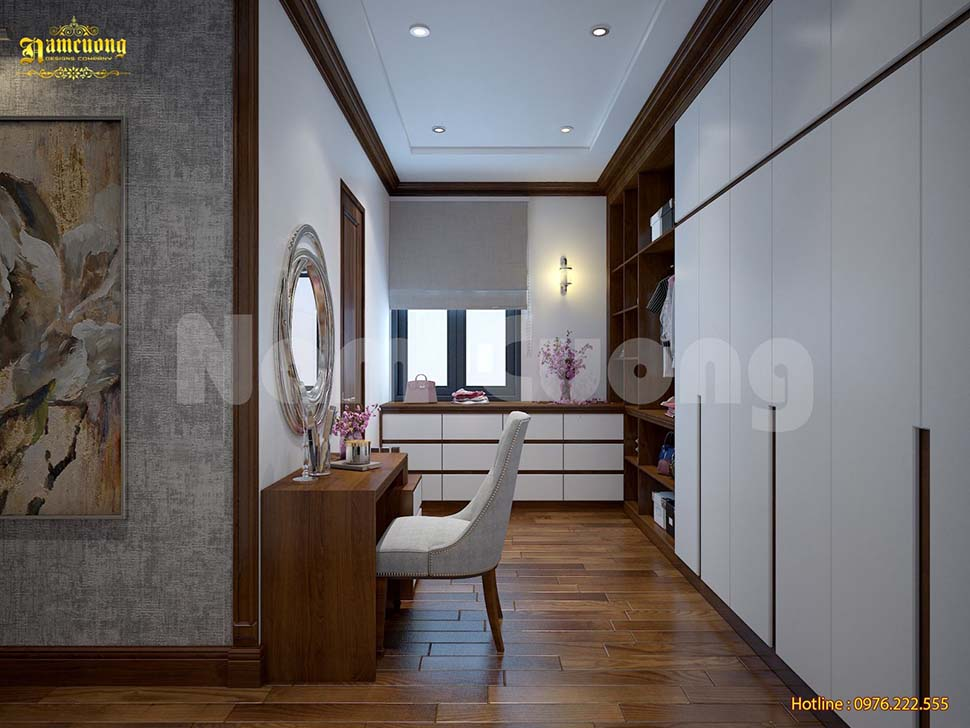 Tủ quần áo 5 cánh phù hợp để sử dụng khi nhà có đông thành viên