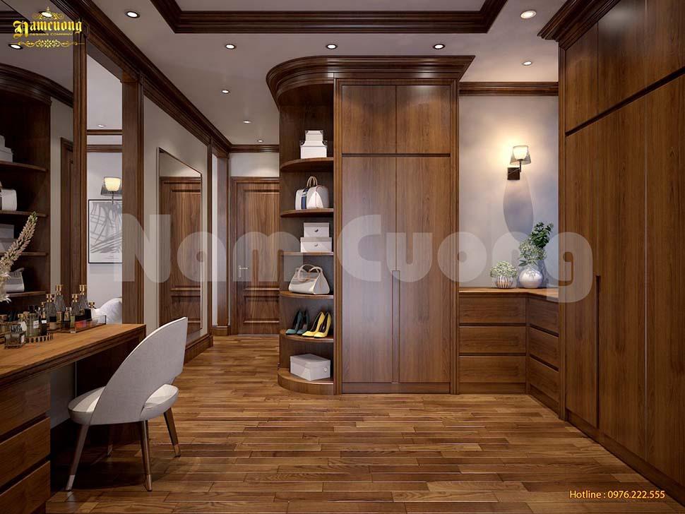 Tủ quần áo gỗ công nghiệp là món đồ được nhiều gia đình lựa chọn
