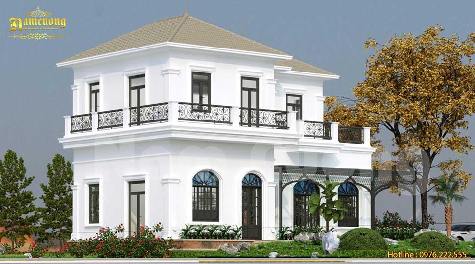 Thiết kế cửa dạng vòm giúp công trình thêm mềm mại, quyến rũ