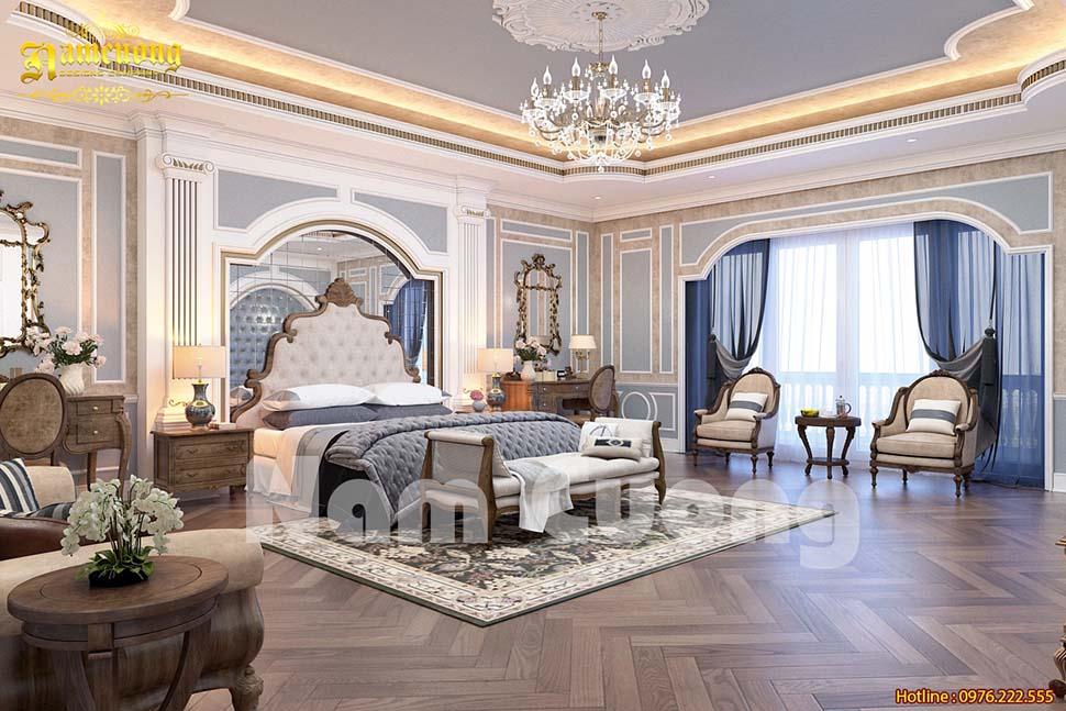 Gỗ veneer xoan đào lát sàn phòng ngủ đẹp