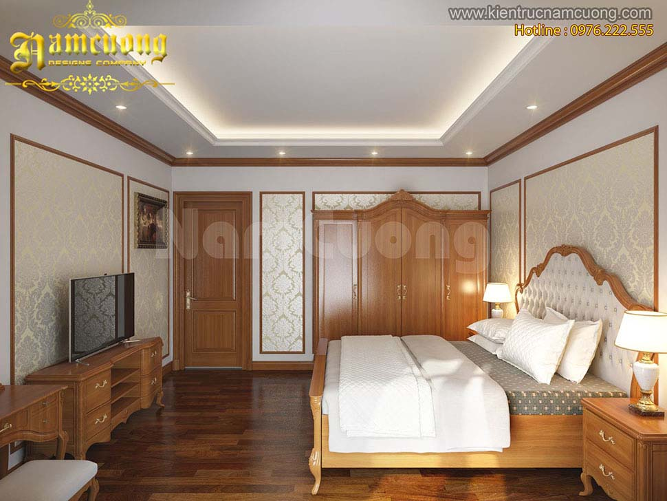 Cửa gỗ phòng ngủ veneer