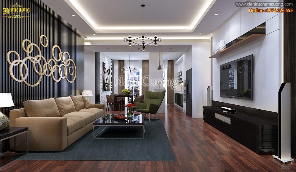 Gỗ veneer được ứng dụng rất nhiều trong thiết kế nội thất
