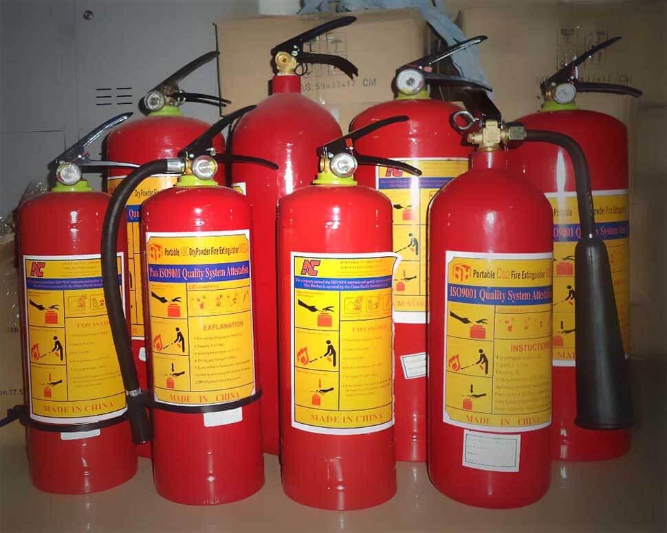 Mỗi gia đình nên chủ động lắp bình cứu hỏa trong nhà