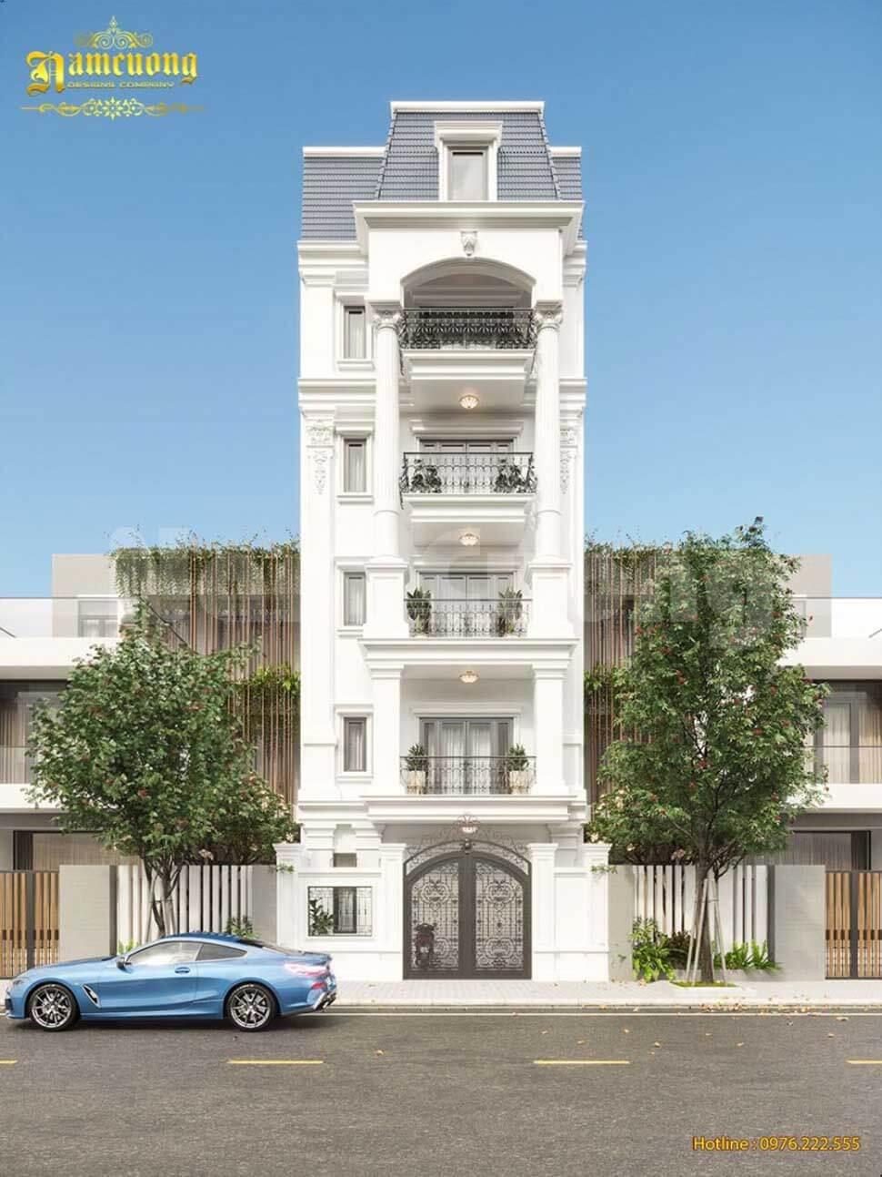Chỉ nên thiết kế khoảng thông tầng cho những căn nhà cao từ 2 tầng trở lên