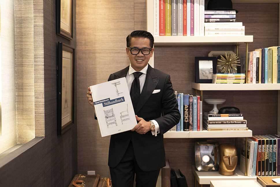 Thái Công là nhà thiết kế nội thất nổi tiếng tại Việt Nam