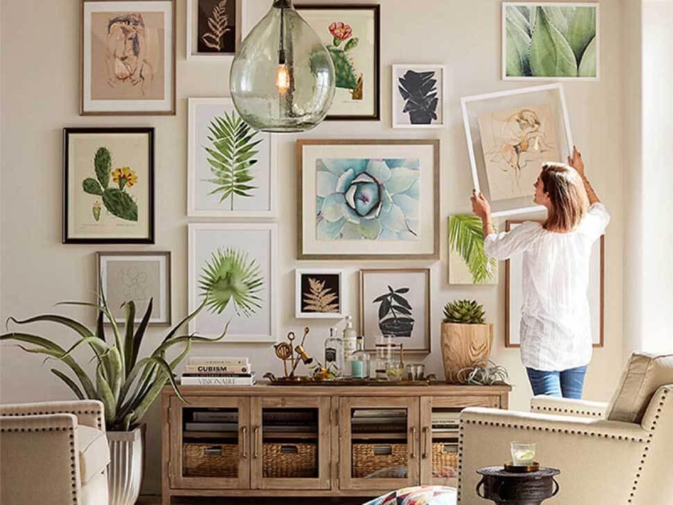 Sử dụng quá nhiều đồ trang trí sẽ khiến căn phòng như nhỏ đi