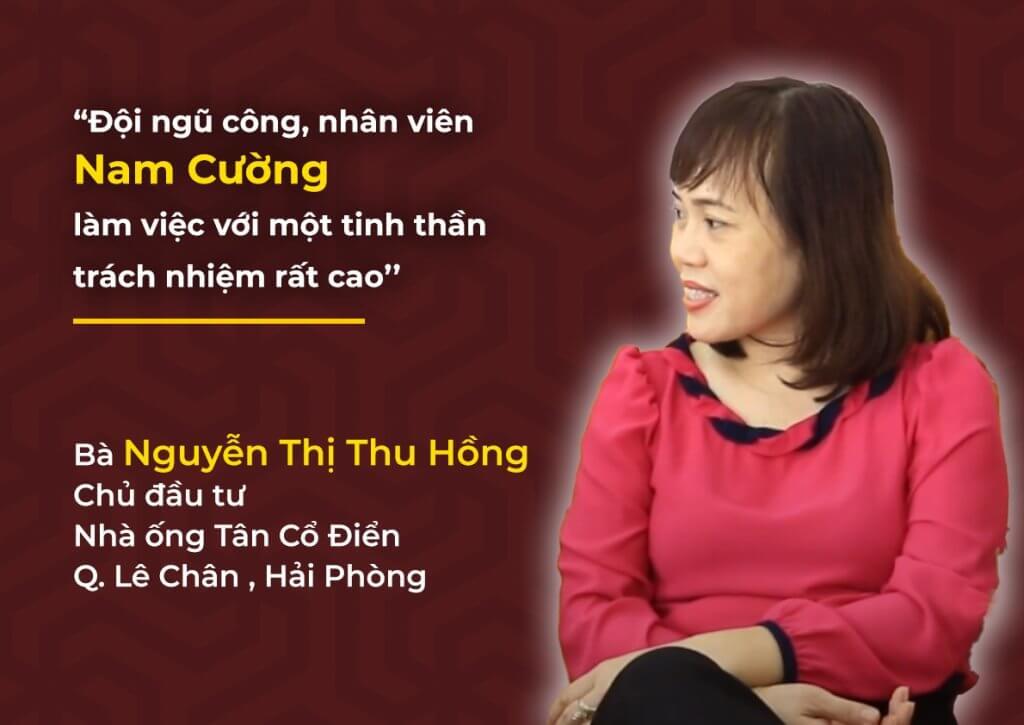 Đánh giá của chủ đầu tư với Nam Cường