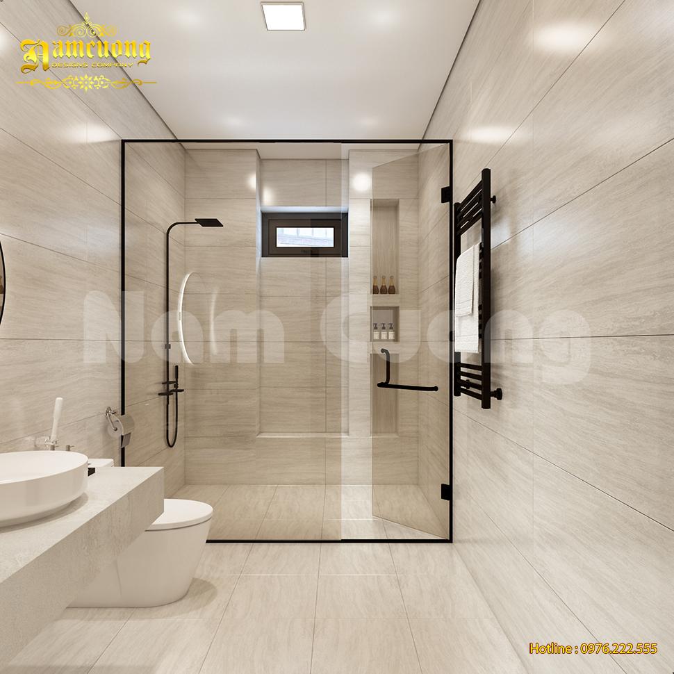 Nội thất WC biệt thự 280m2