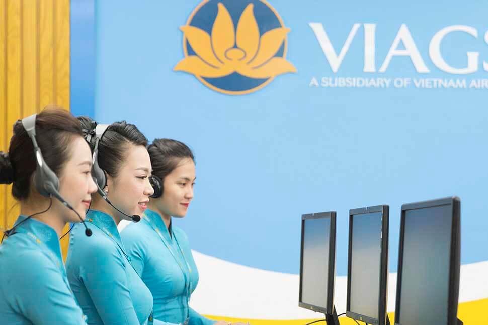 App đặt vé máy bay Vietnam Airlines