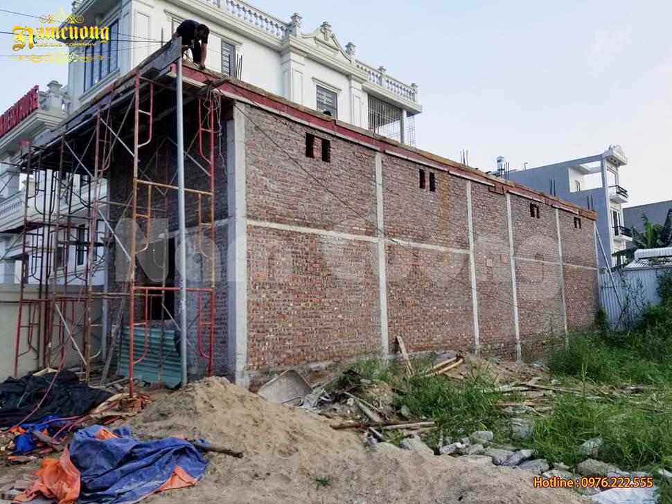 công trình xây dựng sử dụng gạch 4 lỗ