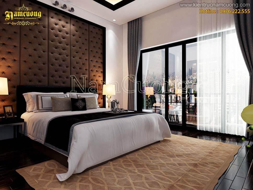 thiết kế phòng ngủ cho nhà hướng tây