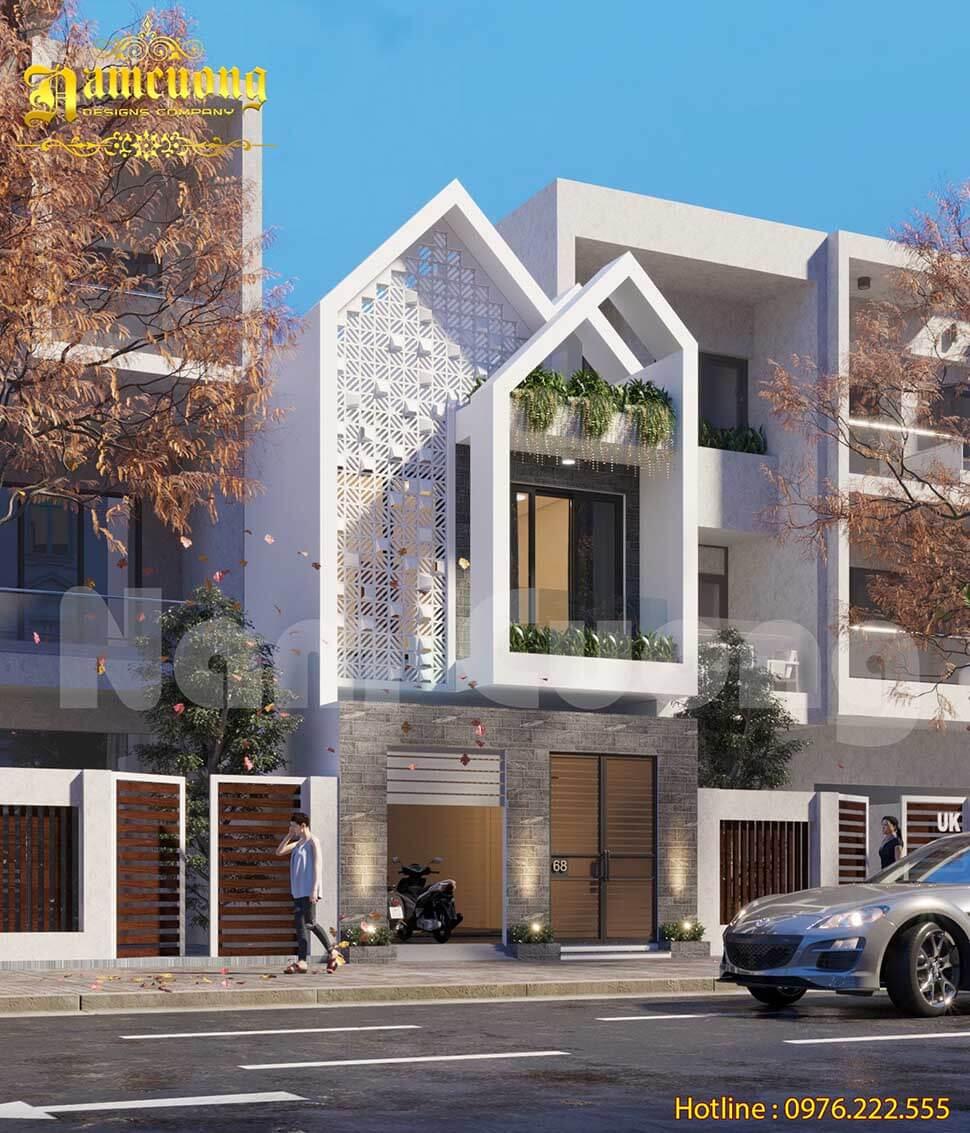 thiết kế nhà ở hướng tây