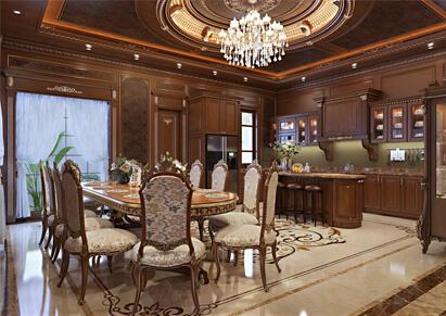 thiết kế nội thất gỗ cho biệt thự