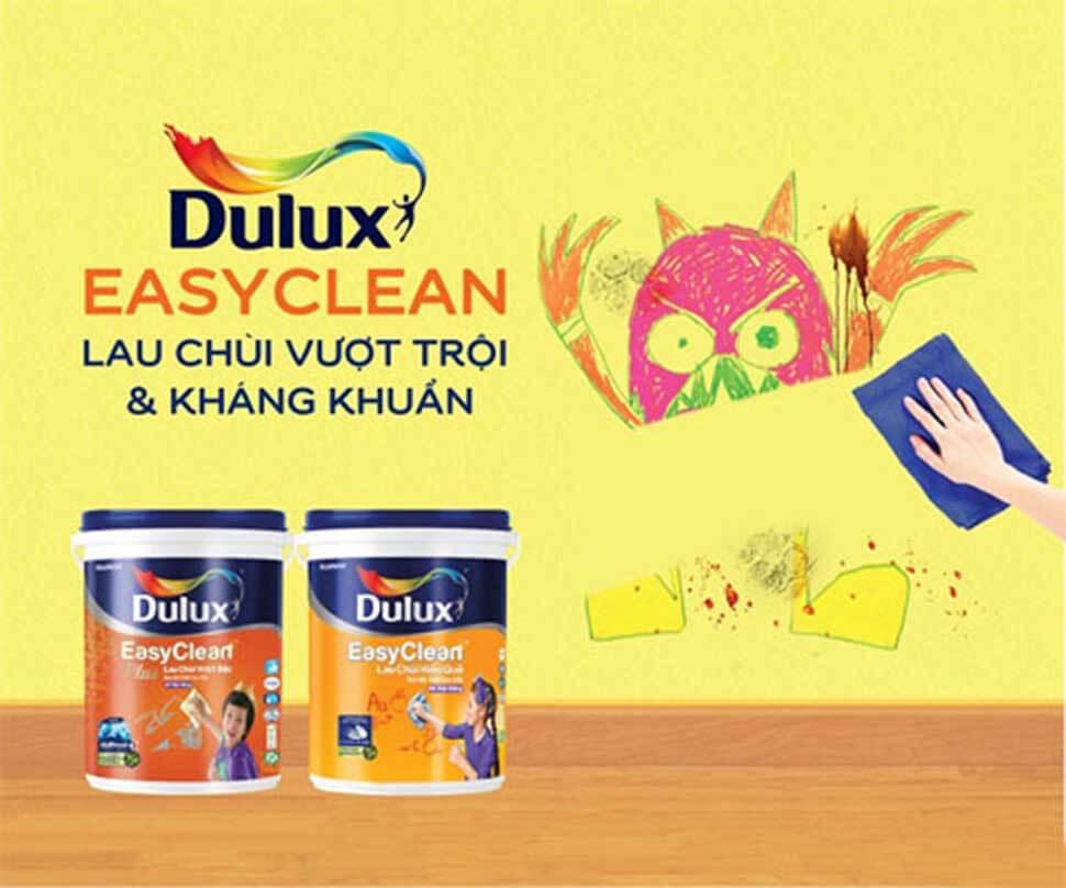Sơn Dulux của tập đoàn AkzoNobel (Hà Lan) được biết đến là dòng sơn hàng đầu tại Việt Nam