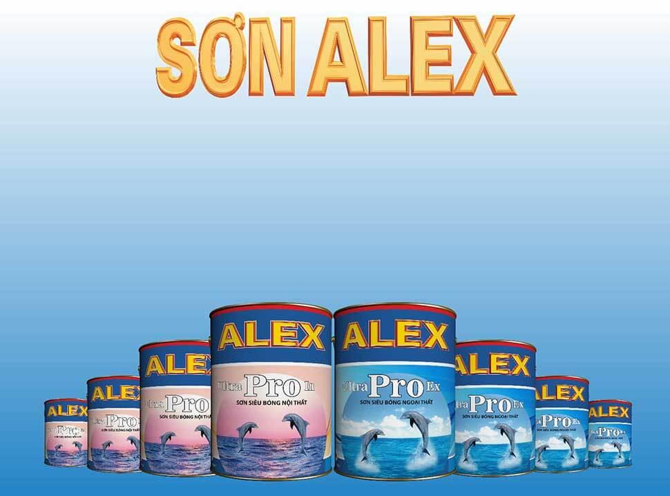 Sơn Alex là một trong những dòng sơn được người tiêu dùng tìm kiếm nhiều nhất