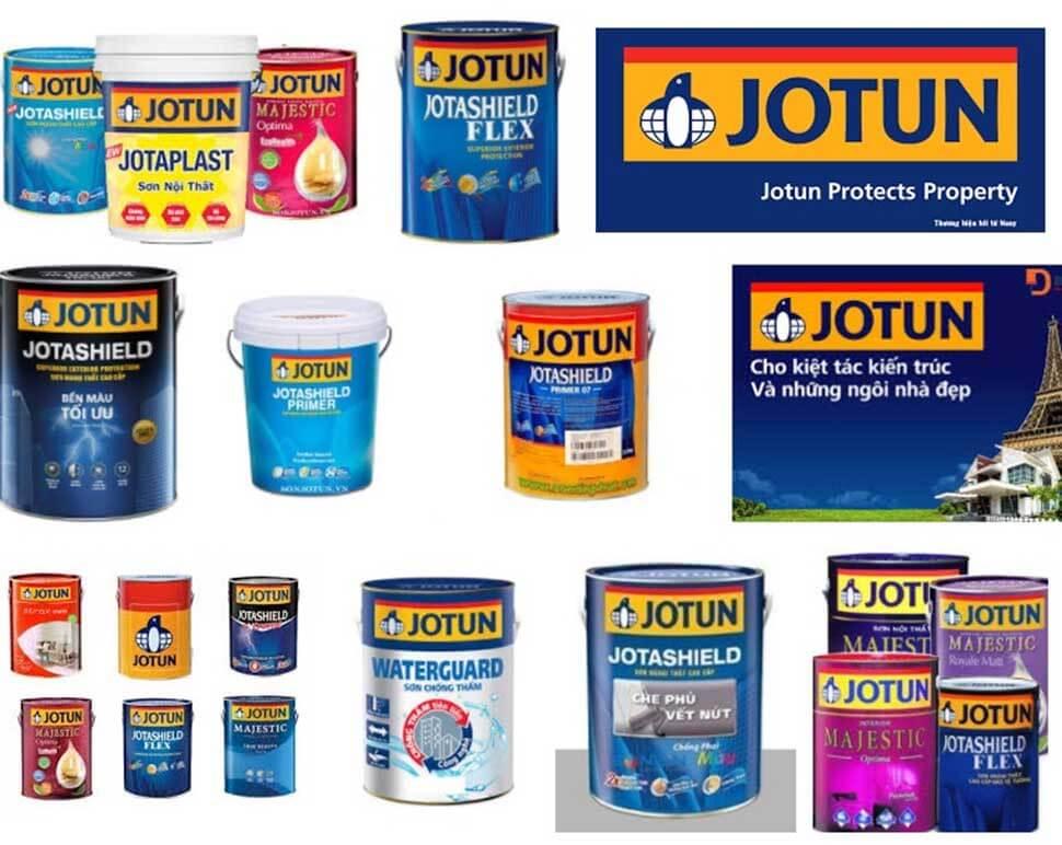 Jotun là thương hiệu sơn nước và chất phủ ngoại nhập đến từ Na Uy