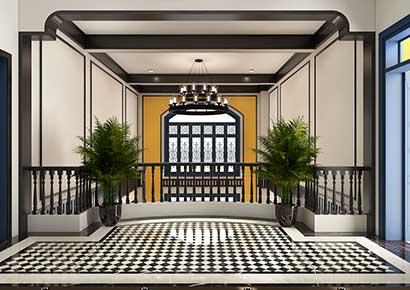Thiết kế nội thất Đông Dương đẹp sang trọng