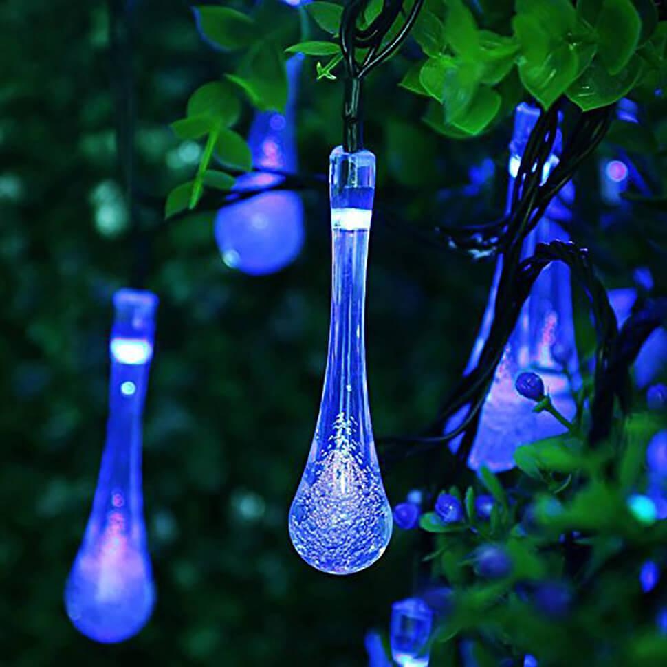 đèn giăng hình giọt nước