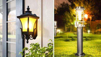 đèn sân vườn cổ điển